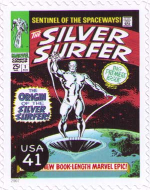The Silver Surfer cover