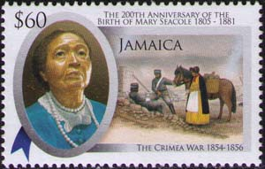 Seacole and Cremean War soldiers